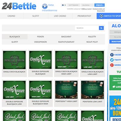 24Bettle casino bonus