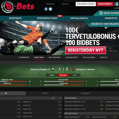 B-Bets bonus