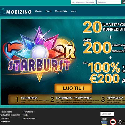 mobizino casino bonus