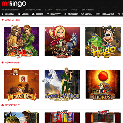 Mr Ringo casino bonus