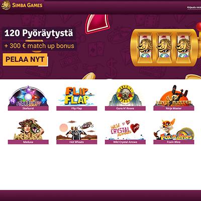 Simbagames casino bonus
