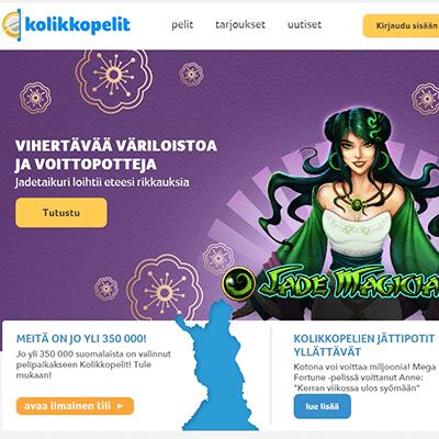 Kolikkopelit.com casino bonus