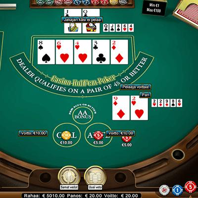 Casino Hold´em säännöt