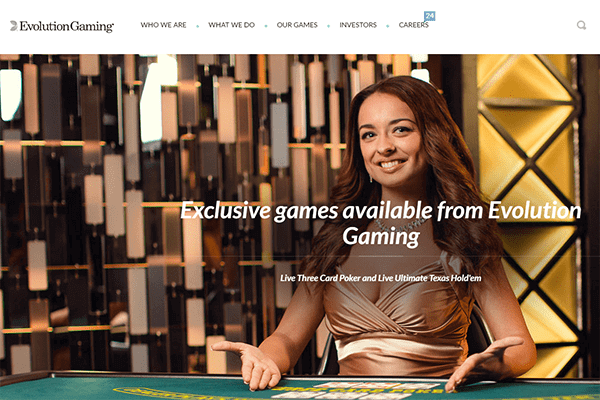 Evolution Gaming nettikasinot