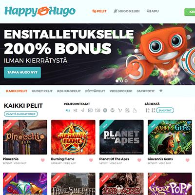 HappyHugo bonus