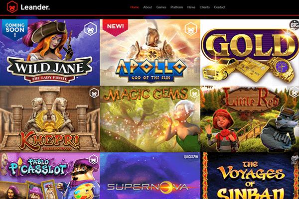 Leander Games nettikasinot