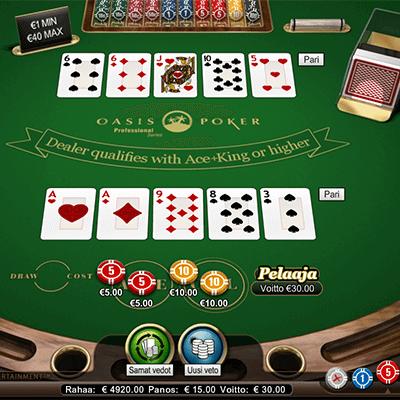 Oasis Stud Poker ilmaiseksi
