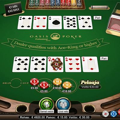 Oasis Stud Poker