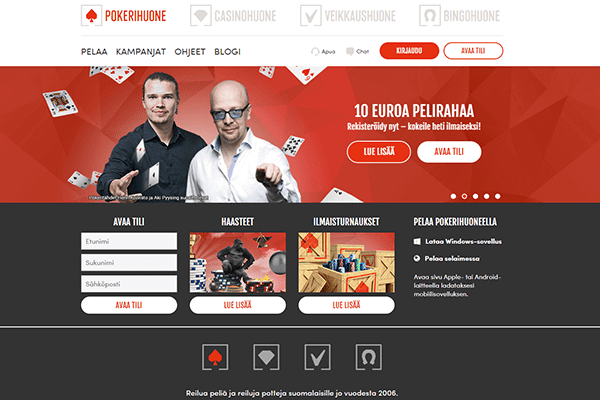 Pokerihuoneet