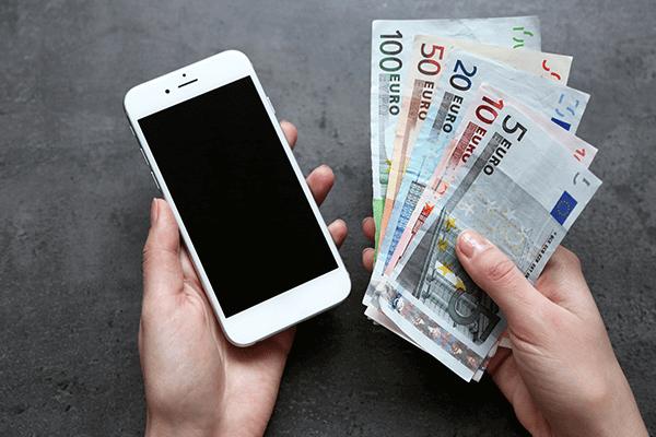 Puhelimella rahaa pelitilille kasinot
