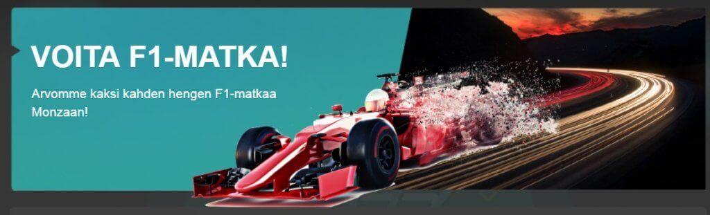 Fastbet voita formula 1 palkinto