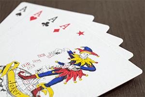 Jokeri Pokeri sanasto