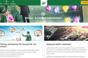 MrGreen-kampanjat