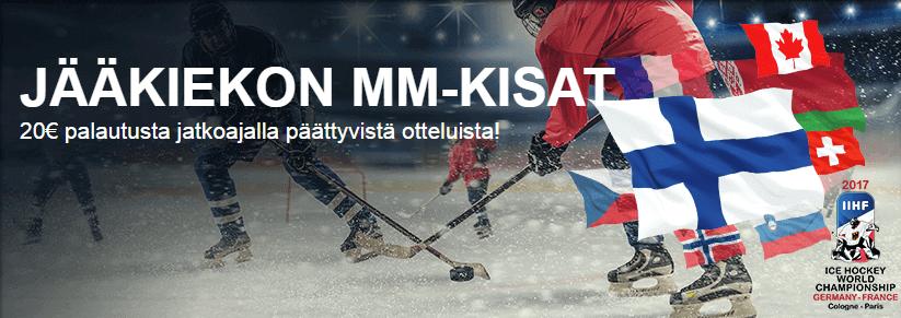 Suomivegas Jääkiekon MM-kisat