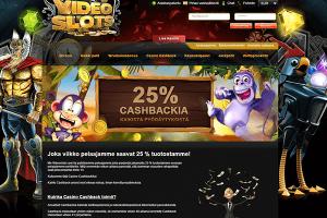Cashback Videoslots