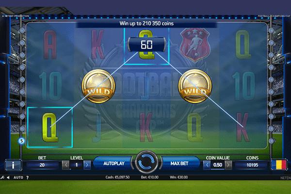 Uusi jalkapalloaiheinen kolikkopeli