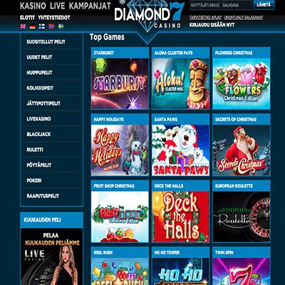 Diamond7 ilmaiskierrokset
