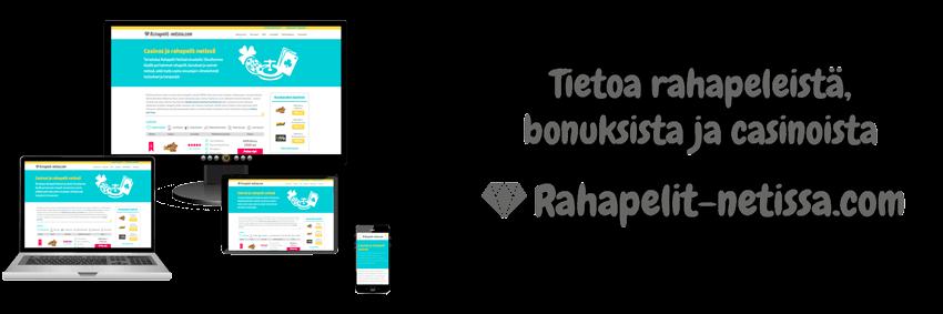 Rahapelit Suomalaisille tarjoaa Rahapelit-netissa.com