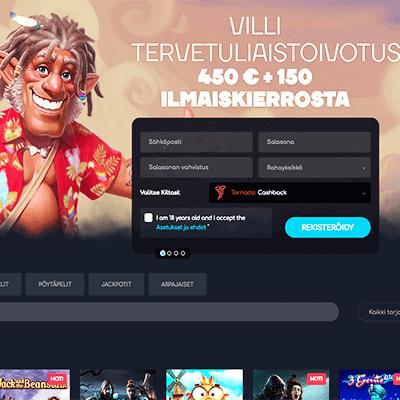 WildTornado casino bonus