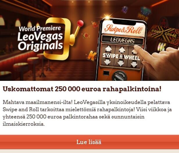 LeoVegas_250_000_euroa