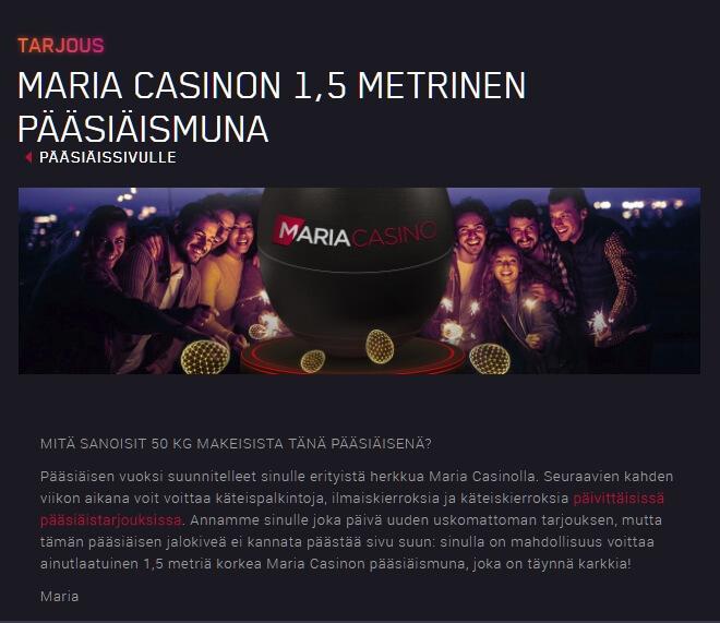 Maria_Casino_suuri_pääsiäismuna