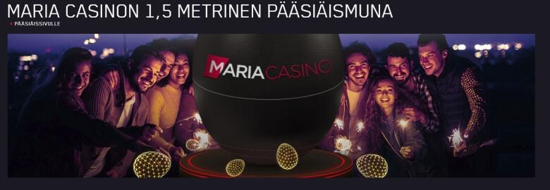 Maria_Casinon_suuri_pääsiäismuna_ja_14_päivätarjousta