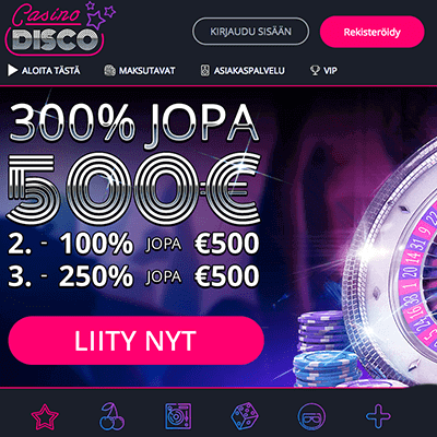 Casino Disco bonus
