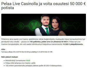 Unibet_Live_Casino_50_000_euroa