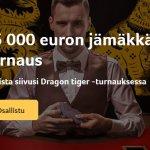 Kolikkopelit_Dragon_tiger_turnaus_15_000_euroa