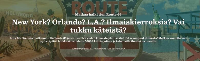 MrGreen_kolme_matkaa_Route66