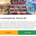 MrGreen_kolme_matkaa_Route66_ilmaiskierroksia