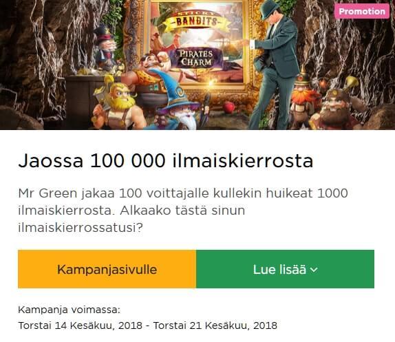 Mr_Green_100_000_ilmaiskierrosta
