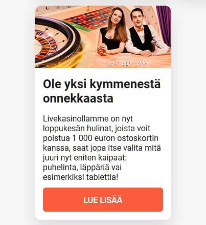 LeoVegas_hulinat_1000_euron_ostoskortti