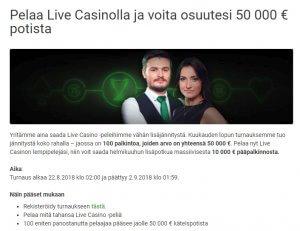 Unibet_Live_Casino_50_000_euron_potti