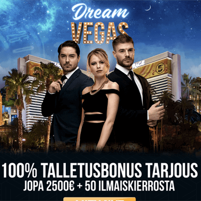 DreamVegas bonus