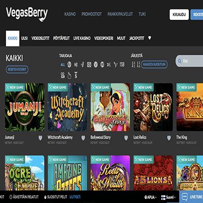 VegasBerry ilmaiskierrokset