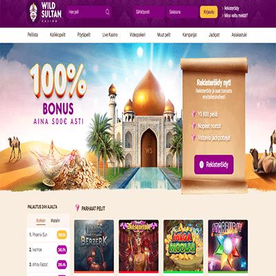 Wild Sultan casino bonus