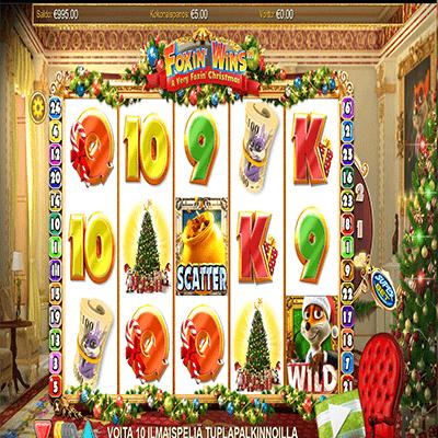 A_Very_Foxin_Christmas_kolikkopeli