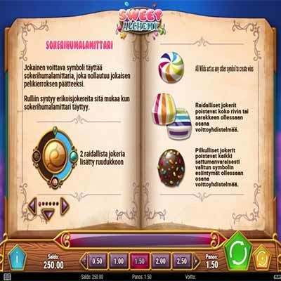 Sweet_Alchemy_kolikkopeli