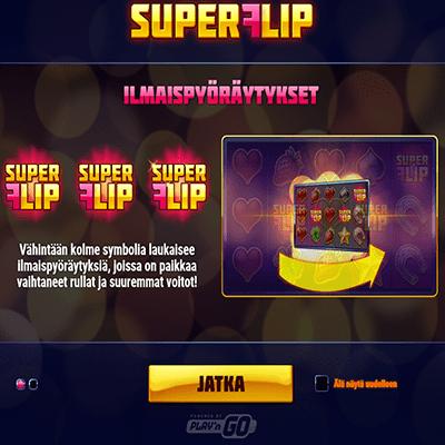 Super_Flip_kolikkopeli