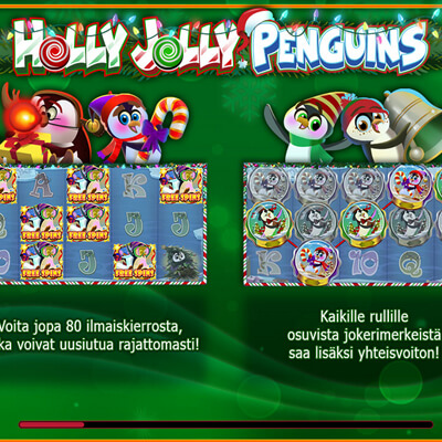 Holly_Jolly_Penguins_kolikkopeli