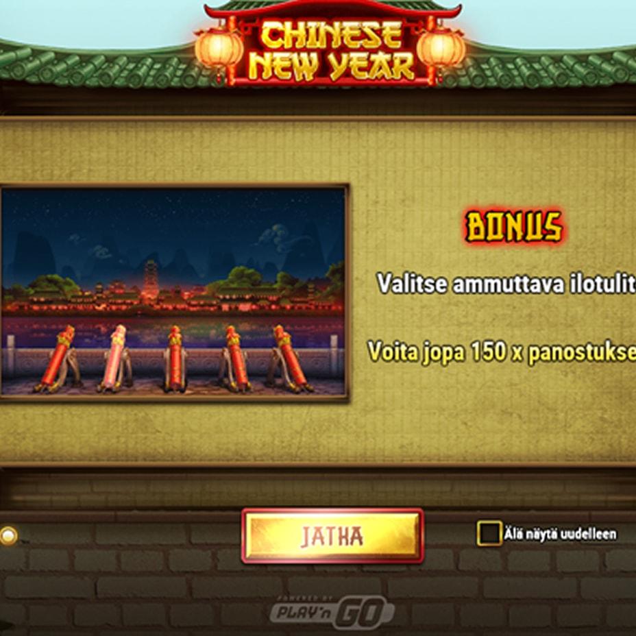 Chinese New Year kolikkopeli