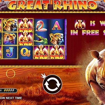 Great Rhino kolikkopeli
