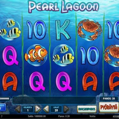 Pearl Lagoon kolikkopeli