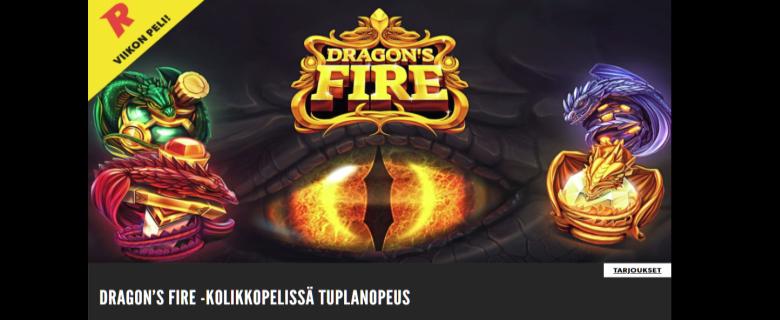 Rizk_tupla_nopeus_Dragons_Fire