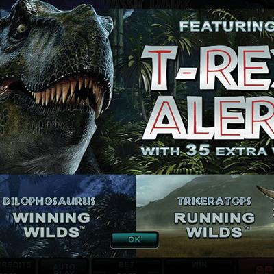Jurassic Park kolikkopeli