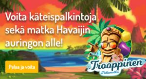 Karjala Kasino voita matka Hawaijille