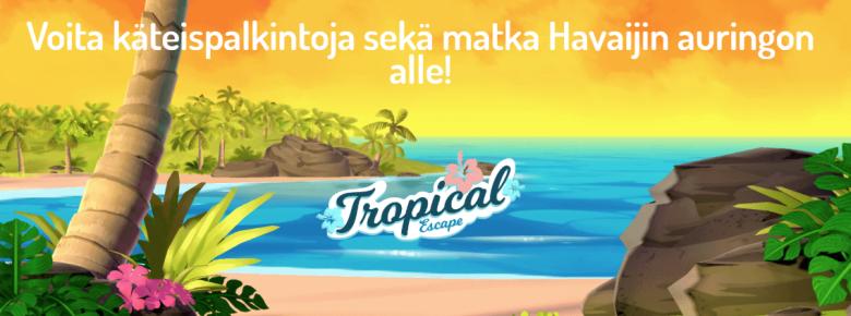 Karjala Kasino voita matka Hawaijin aurinkoon