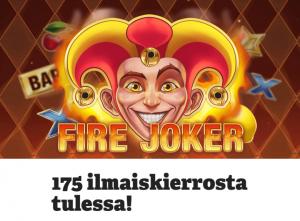 Paf Fire Joker ja 25 ilmaiskierrosta