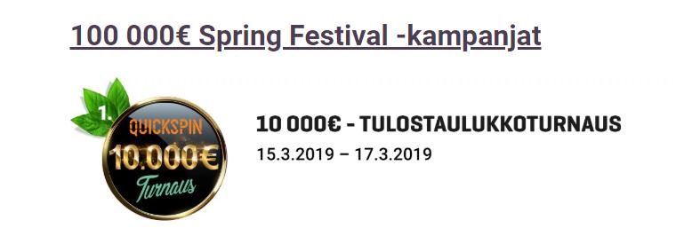 Guts 100 000 euron kevät
